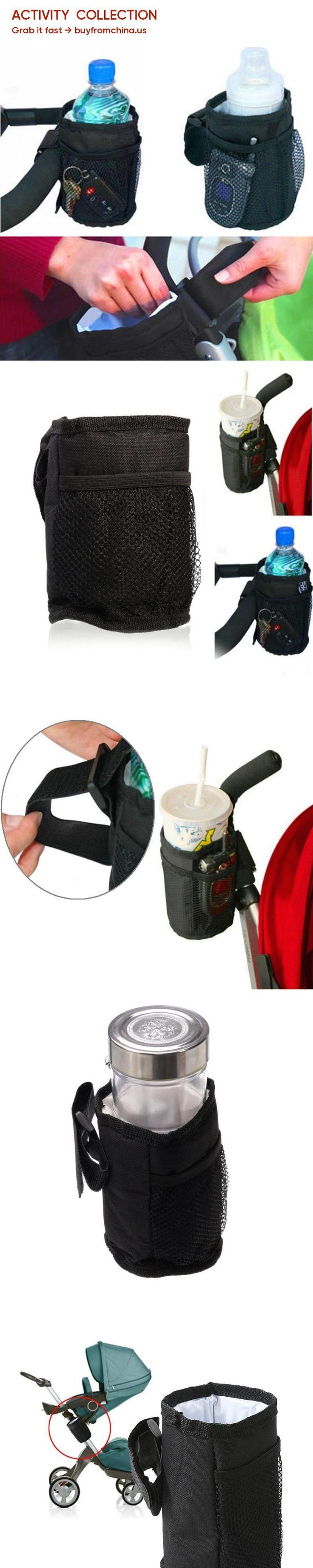Baby Stroller bag Accessories Waterproof Stroller Insulated Cup Holder Bottle Dr…