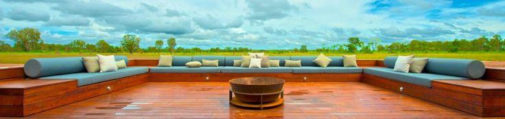 Wildman Wilderness Lodge. The resort is buried in the Kakadu National Park, in Northern Australia. #interdema #safaritent #ecoresort #luxury #travel #design #WildmanWildernessLodge #KakaduNationalPark #Australia #дизайн #люкс #путешествие