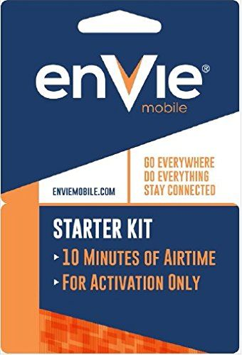 #fashion #ootdmagazine H2O #Envie #Mobile CDMA Activation Kit - works only on Verizon 3G or less speed phones (will not work on 4G/LTE phones). Free 10 Minutes In...