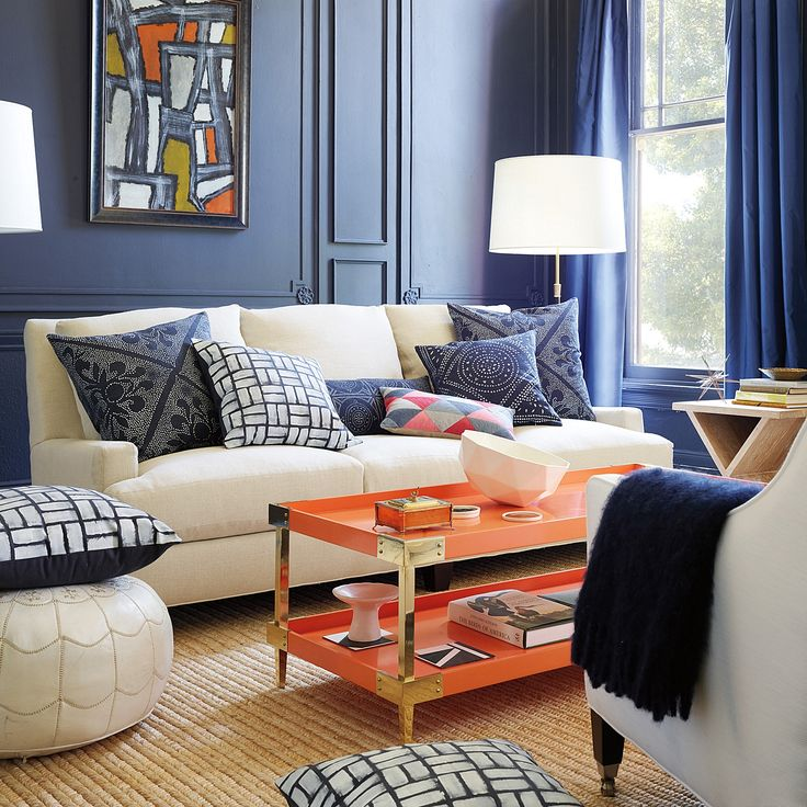 The Hottest Color Palette For Fall 2014 Just Happens To Be An Enduring Classic Its Deep Blue And Orange Not Garish Of Read On