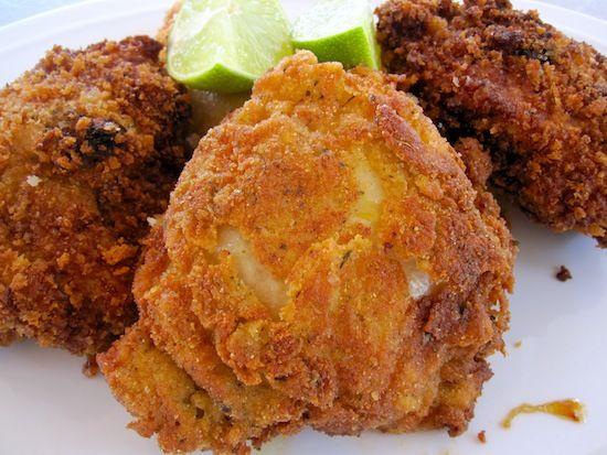 Colombian-Style Fried Chicken (Pollo Frito Apanado)