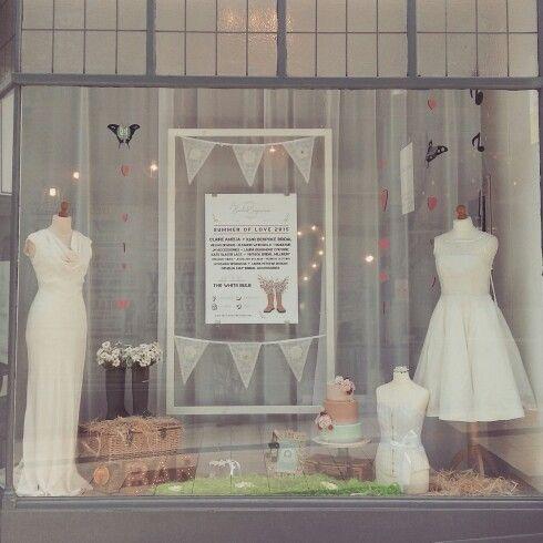17 best tbe window displays at the bridal emporium leeds images on shop window display june 2015 at the bridal emporium in leeds festival theme wedding junglespirit Gallery