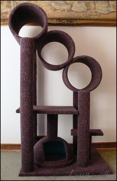 Cat Tree Scratching Post Plans