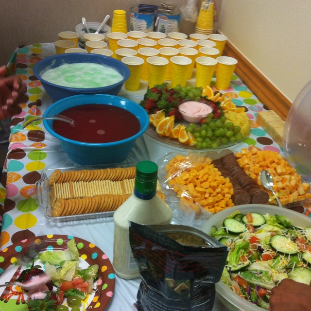 Baby Shower Foods & Ideas