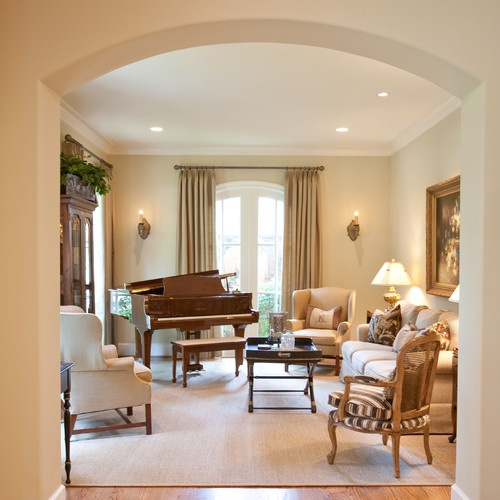 U201cPaint On Walls Is Sherwin Williams 6120 Believable Buffu201d French Country    Traditional   Family Room   Houston   Creative Touch Interiors Part 71
