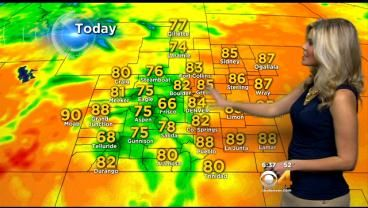Tuesday's Forecast: Warmer, Drier With Isolated Storms Possible « CBS Denver