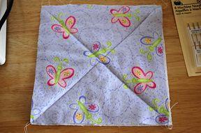 jen yu: flannel rag quilt - great tutorial