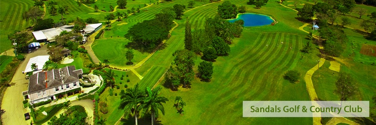 The Sandals Golf & Country Club in Ocho Rios.