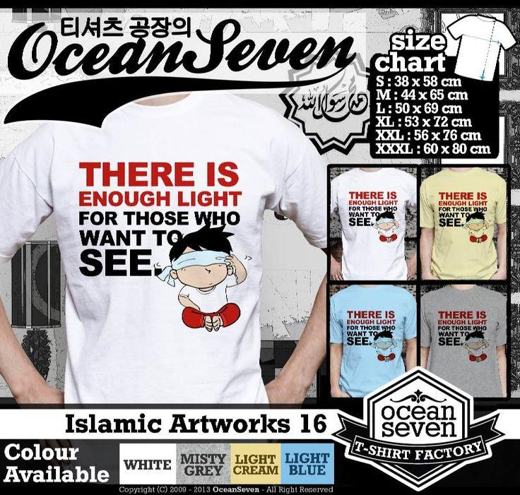 Kaos Distro kartun Islam | Islamic Artworks 2