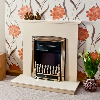 A Beautiful Choice The Contemporary Marble Fireplace Is Ideal For Any  Space. If You Are
