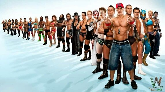 Big Show Alex Riley John Morrison Brie Bella Nikki Bella Ted Dibiase David Otunga Santino Kellykelly Kofi Kingston Cody Rhodes Eve Torres Mark Henry Triple H The Undertaker Bad New Barrett Jack Swagger Rey Mysterio Sheamus Miz John Cena Randy Orton Alberto Del Rio Sin Cara Christian & R-Truth