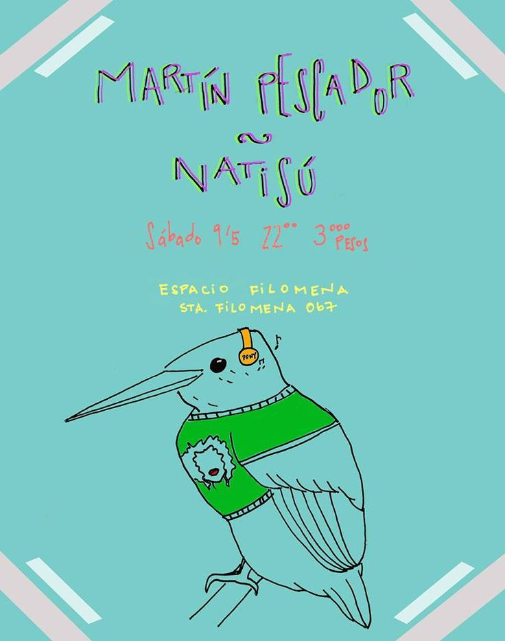 ¡Concurso! Natisú + Martín Pescador