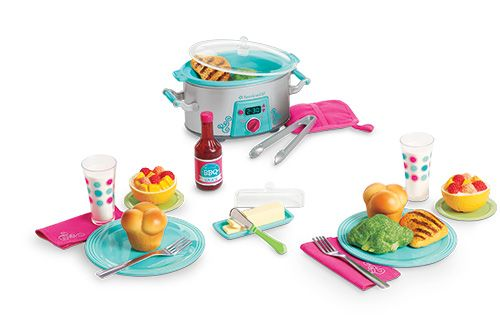 American Girl Slow Cooker Dinner Set