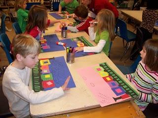 Mrs. Webers Art Class: Kindergarten Shape trains
