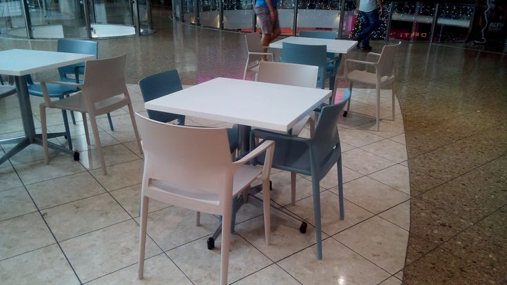 Latest installation done by SW Contracts Cape Town - Cape Gate Bakhita Chairs paired with Classic Twist Tables Available from SW Contracts 011 262 3521 info@swcontracts.co.za www.swcontracts.co.za