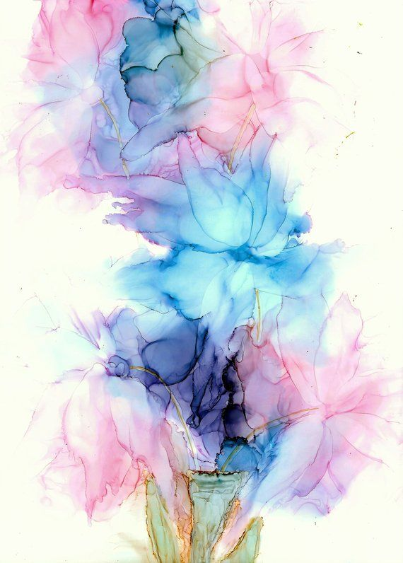 This Is An Original Painting I Love Flowers And All Colour