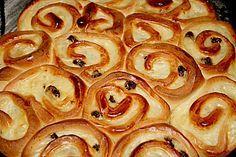 Puddingschnecken - Kuchen 1