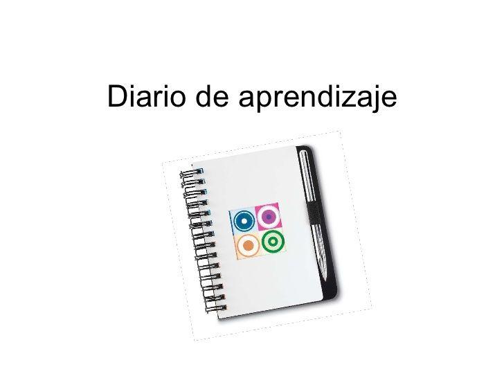 Diario De Aprendizaje by iCOBAE via slideshare