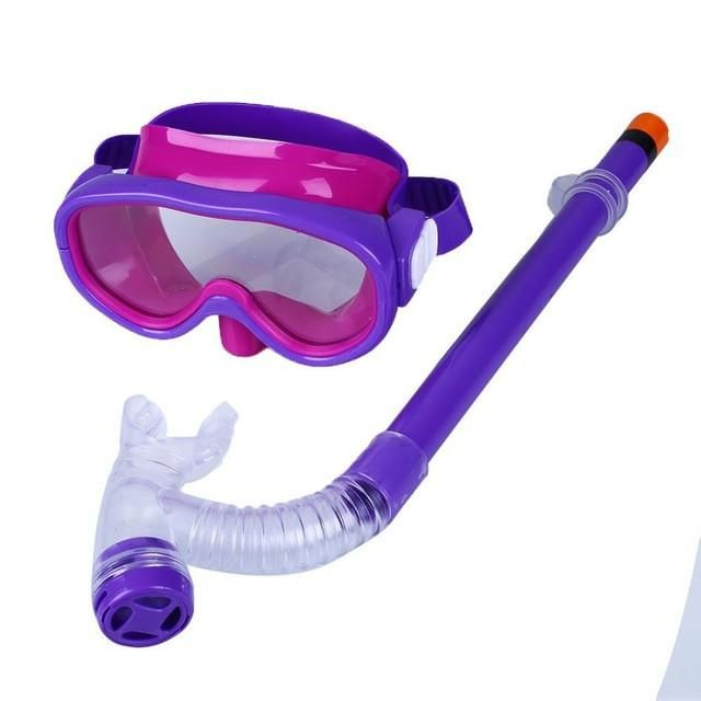 Children's Swimming Mask & Snorkel - Kids Diving Goggles with Breathing Tube
