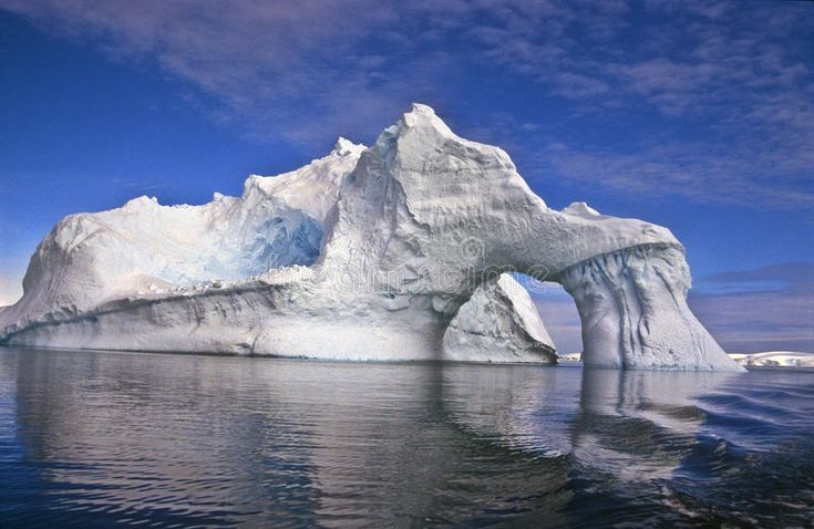 Iceberg With An Arch, Antarctica Royalty Free Stock Photos - Image: 17964378