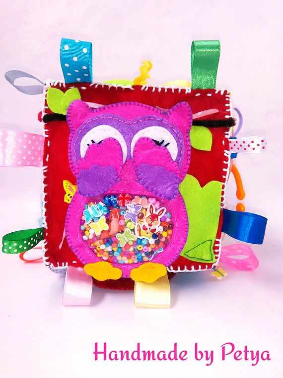 Fabric Baby Cube/ Quiet Book/ Soft Baby Block/ Busy Block/