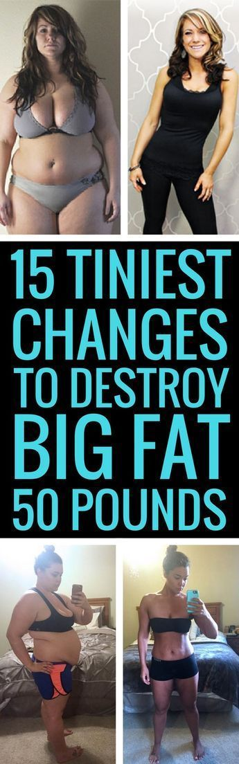 15 small changes to lose a lot of weight fast and for good. <> Lose Weight & Have More Energy:  http://qoo.by/2ywl