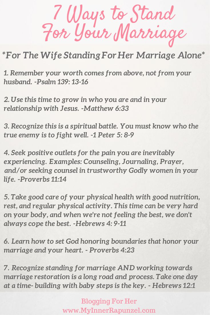 For the Wife Standing for Her Marriage Alone, Standing For Marriage, Marriage Restoration, Redemption in marriage