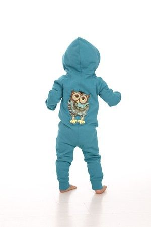 I love owls! this one's from Filemon Kid, Blue Onesie