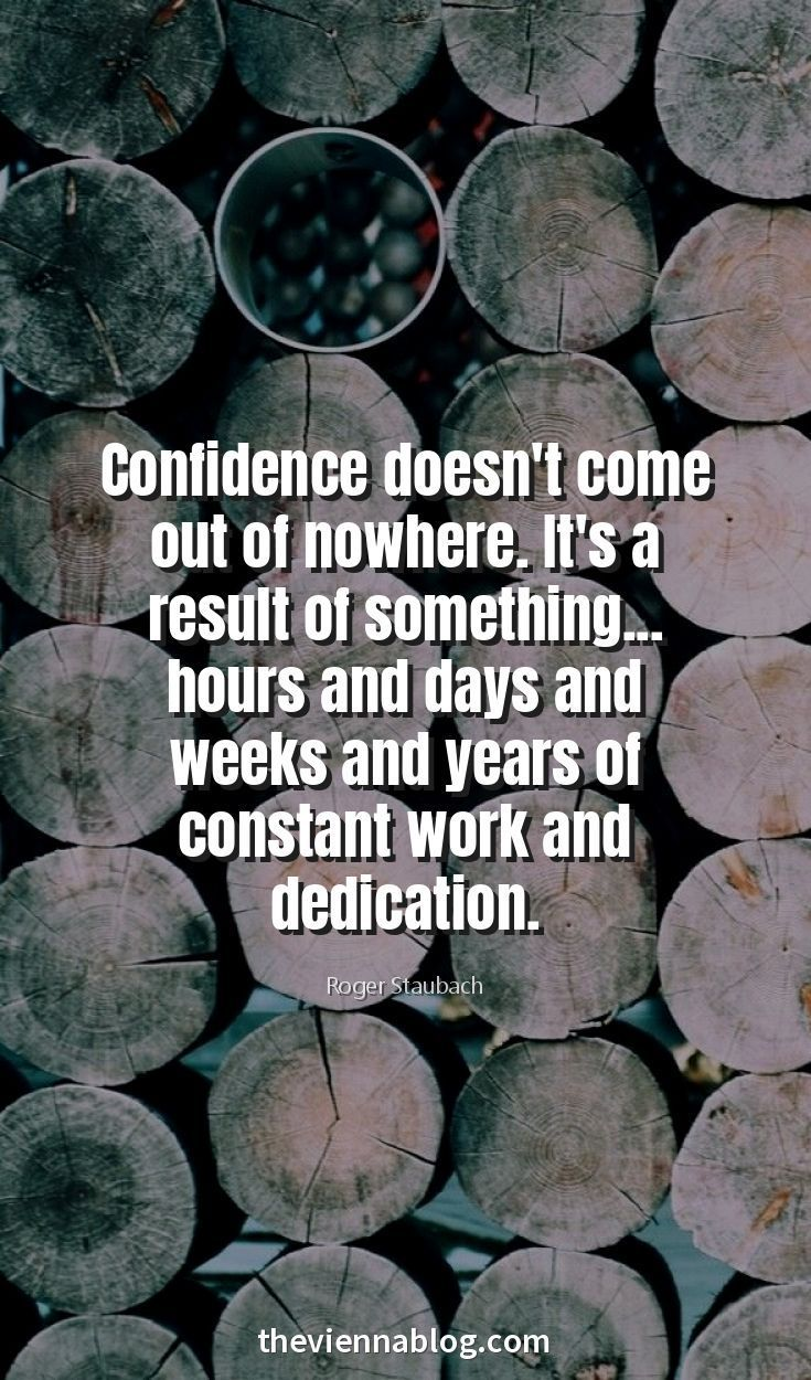 Work At Your Confidence And Don T Be Afraid Of The Uncomfortable Standing Alone And Doing Somethin Inspirational Quotes Motivation Quotes Inspirational Quotes