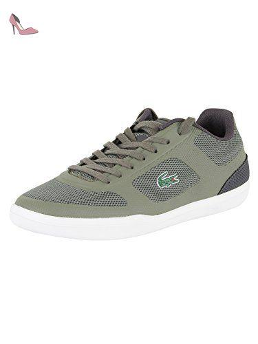 Lacoste Homme Formateurs 117 1 CAM Court-Minimal Sport, Vert, 46 - Chaussures lacoste (*Partner-Link)