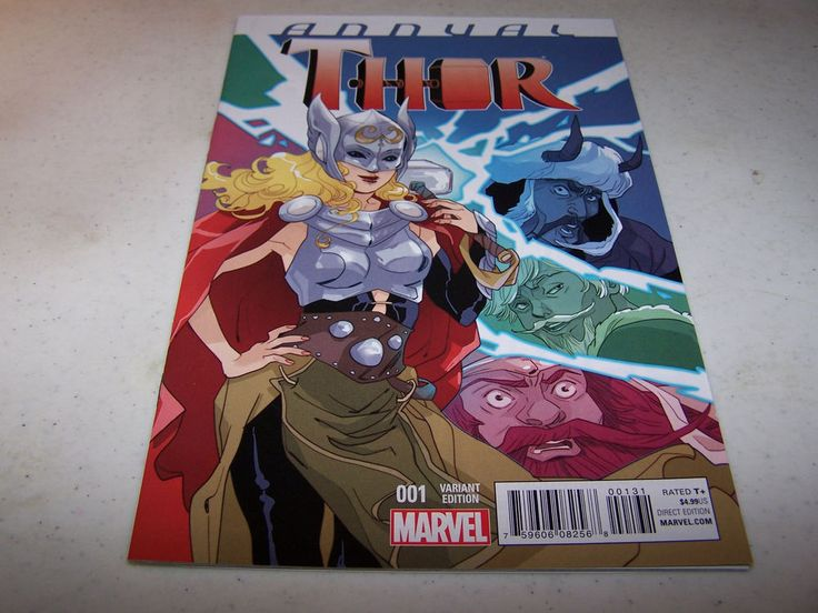THOR ANNUAL #1 SAUVAGE VARIANT EDITION CM PUNK PHIL BROOKS WRITES STORY  in Collectibles, Comics, Modern Age (1992-Now) | eBay!