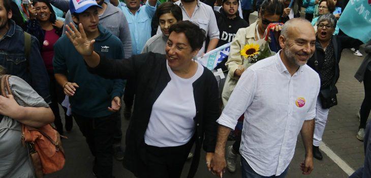 Beatriz Sánchez realiza su cierre de campaña en Concepción con foco en descentralización - BioBioChile