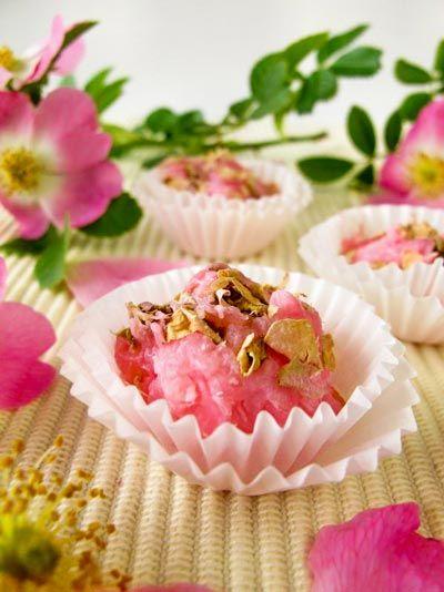 Badezusätze - Rezept zum selber machen für Badepralinen mit Vanille Duft
