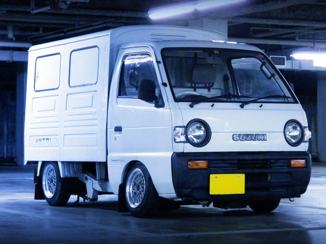 Suzuki Carry DC51B Panel van | Lowered, JDM, Stance                                                                                                                                                      More