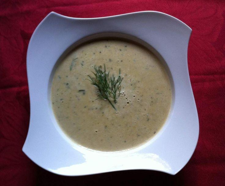 Rezept Zucchini/Erdnußsuppe von Jengels - Rezept der Kategorie Suppen
