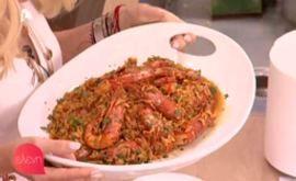 #Κριθαρότο με #γαρίδες #eleni #ελενη #ΠέτροςΣυρίγος