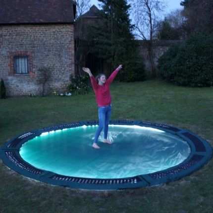 Inground Trampoline Magic Night Lights | Capital Play