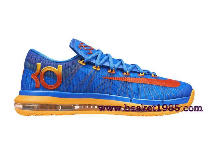 Nike KD VI Elite Team-Chaussures De Basket Pour Homme Bleu 642838_400 -  Boutique Chaussures