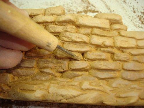 Tuto : Fabrication d'un petit muret pour la crèche de Noël. Repinned by www.mygrowingtraditions.com
