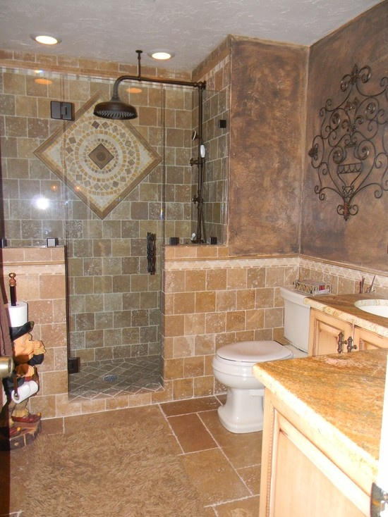 243 Best Images About Tuscan Bathroom On Pinterest