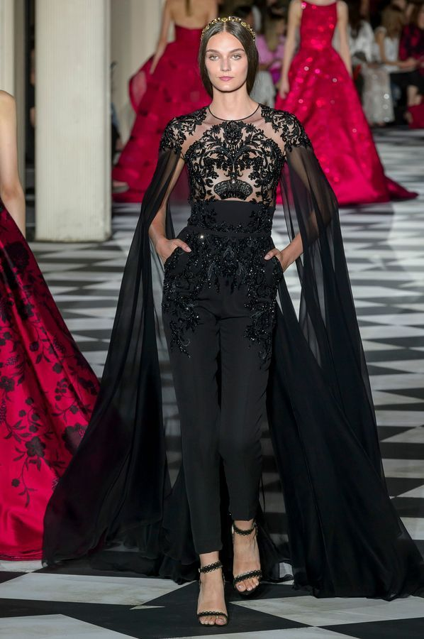 Défilé Zuhair Murad Haute Couture Automne-hiver 2018/2019 – Paris