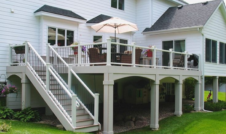 Looking to improve the value of your home an outdoor deck