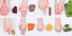 O segredo da boa alimentação está na palma da suas mãos (literamente!)   SOS Solteiros