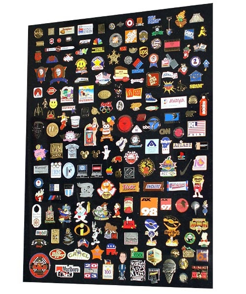 Pin collection display