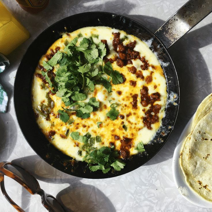 At Minero, Chef Sean Brock uses Chihuahua cheese for this, which is a Mexican melting type, but it can be hard to find unless you have a Latin foods store nearby. If that's the case, use Monterey Jack. Not the same, but still crazy good!