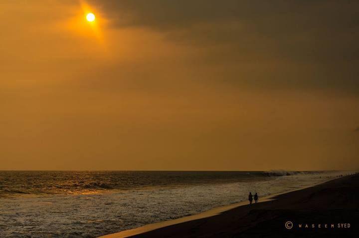 Caída del sol Playas de Monterrico Guatemala Foto: Waseem Syed Photography