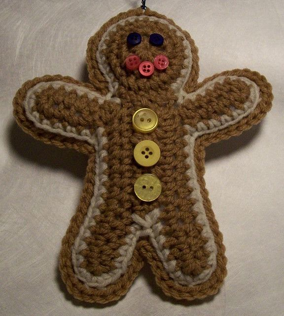 Gingerbread Man by Yarn Tails