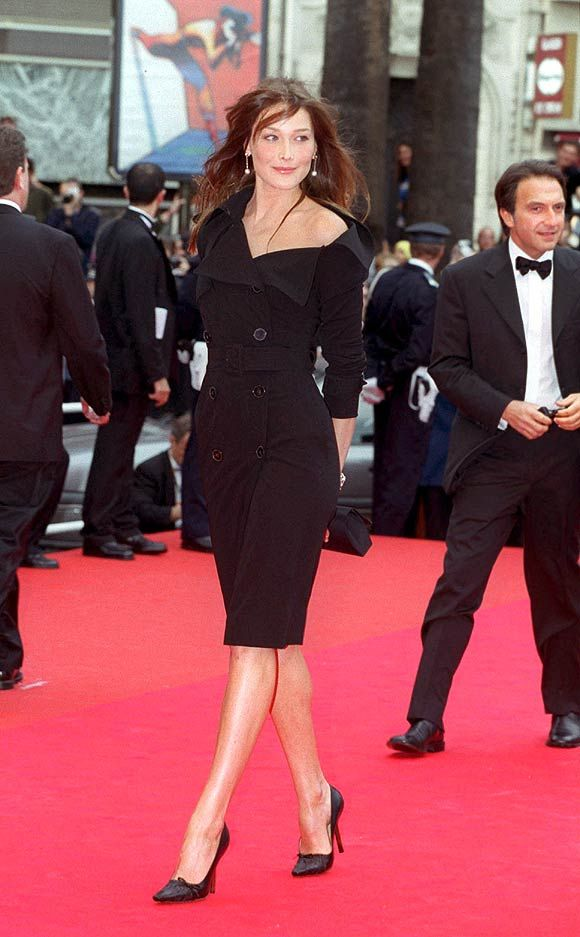 Carla Bruni - on or off the red carpet, she is always admirably chic.
