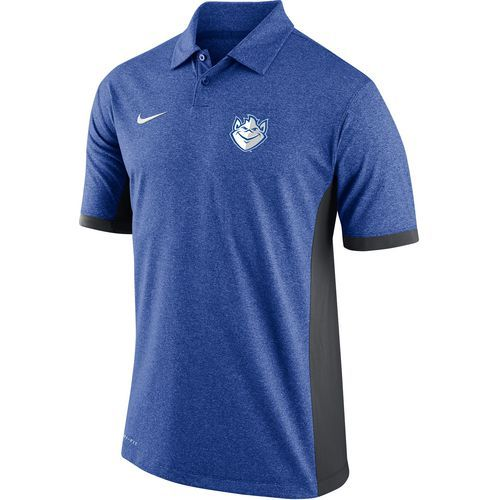 Nike Men's Saint Louis University Victory Block Polo Shirt (Blue, Size X Large) - NCAA Licensed Product, NCAA Men's Jersey/Polos at Academy Sports