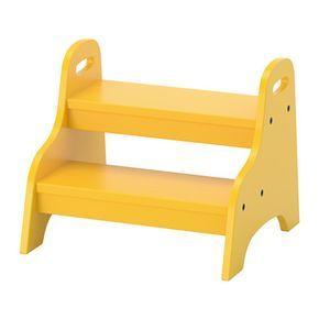 IKEA - TROGEN, Trapje/kruk voor kind, , Kinderen kunnen hem gebruiken als zitplaats, voetsteun of als opstapje om ergens beter bij te kunnen.Staat stevig op de grond; kantelt niet als je kind erop gaat staan.Makkelijk voor kinderen om op te tillen en te verplaatsen, omdat hij aan beide kanten een handgreep heeft.